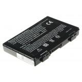 Batterie ordinateur portable A32-F82 pour (entre autres) Asus K40, K50, F82 - 4400mAh