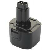 Batterie outillage portatif compatible avec Black & Decker PS120