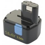 Batterie outillage portatif pour Hitachi - 14,4V - compatible avec, entre autres, EB1414L, EB1420RS, EB 14S
