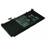 Batterie ordinateur portable S31-S551 pour (entre autres) Asus S551L - 4400mAh