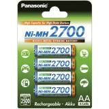 4 x piles AA Panasonic - Spécialement pour les flashs