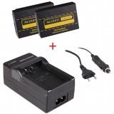 2 batteries LP-E17 pour appareil photo Canon + chargeur