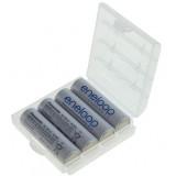 4 x piles AA Panasonic Eneloop  - 1900mAh