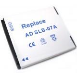 Batterie SLB-07A pour appareil photo Samsung