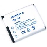 Batterie GB-20 pour appareil photo General Imaging