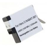 Batterie AABAT-001 pour caméscope GoPro Hero5, Hero6, Hero7