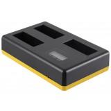 Chargeur Triple Canon LP-E17 - Recharge 3 batteries, simultanément