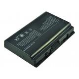 Batterie ordinateur portable 90-NQK1B1000 pour (entre autres) Replacement for Asus A42-T12 - 5200mAh