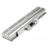 Batterie ordinateur portable BPS13 pour (entre autres) Sony Vaio VGN-CS11 (Silver) - 5200mAh