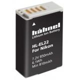 Batterie Origine Hähnel HL-EL22 - Nikon EN-EL22