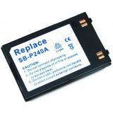 Batterie SB-P190A / SB-P240A pour caméscope Samsung