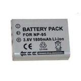 Batterie NP-95 pour appareil photo Fujifilm