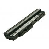 Batterie ordinateur portable BTY-S11 pour (entre autres) MSI Wind U100 (Black) - 2200mAh